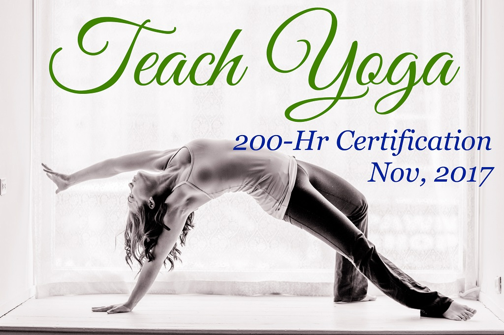 200-hr Yoga Teacher Training in London, Ontario, November 2017 to June 2018