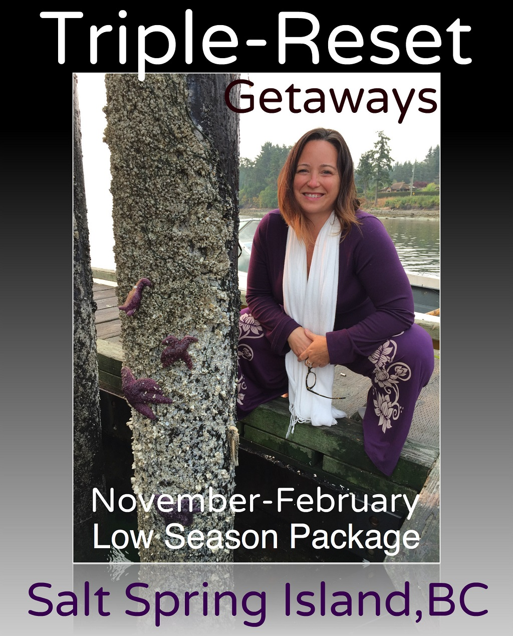 Triple-Love R&R Getaways on Salt Spring Island, B.C.