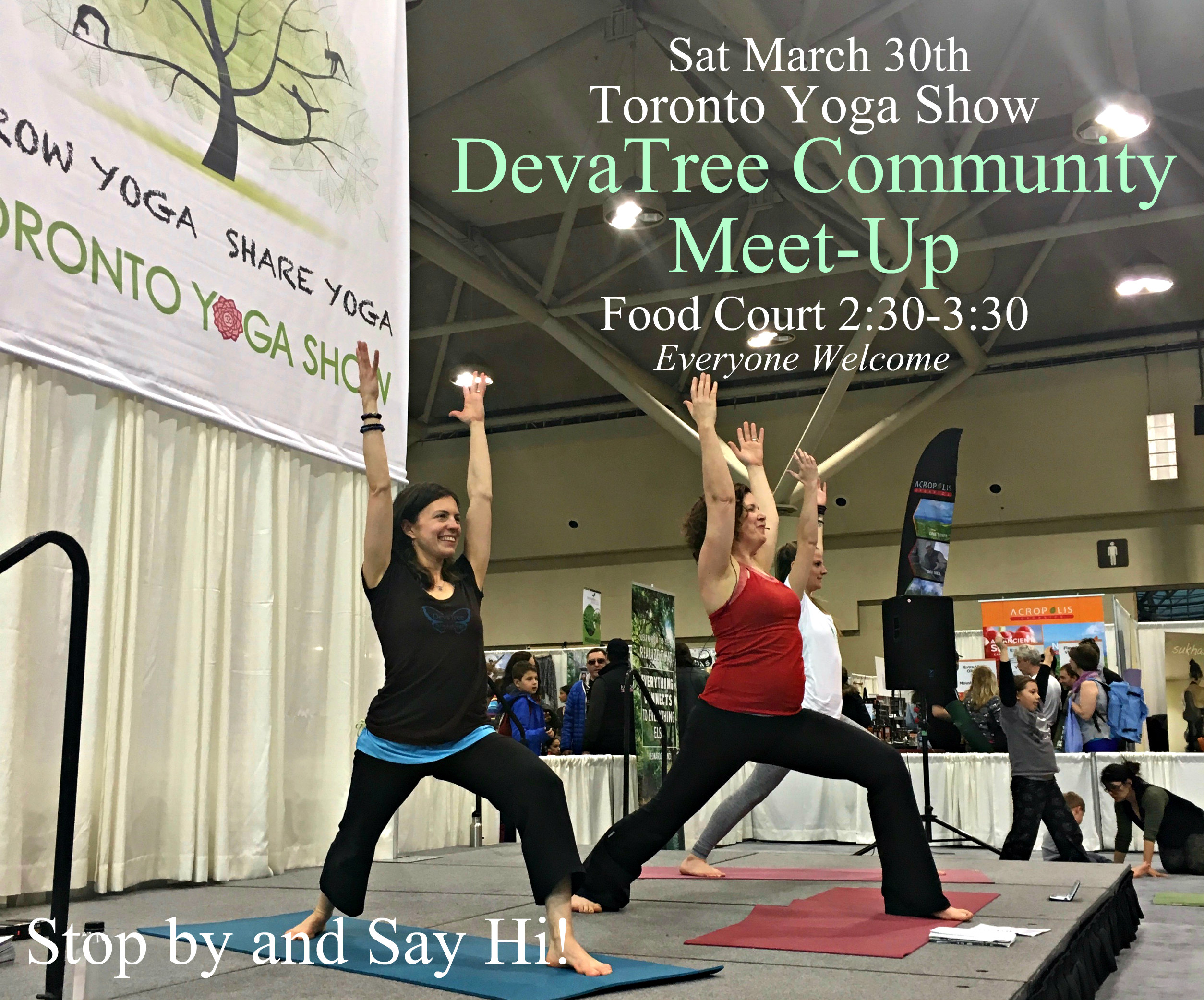 Toronto Yoga Show and Conference in Toronto, Ontario March 30th, 2019
